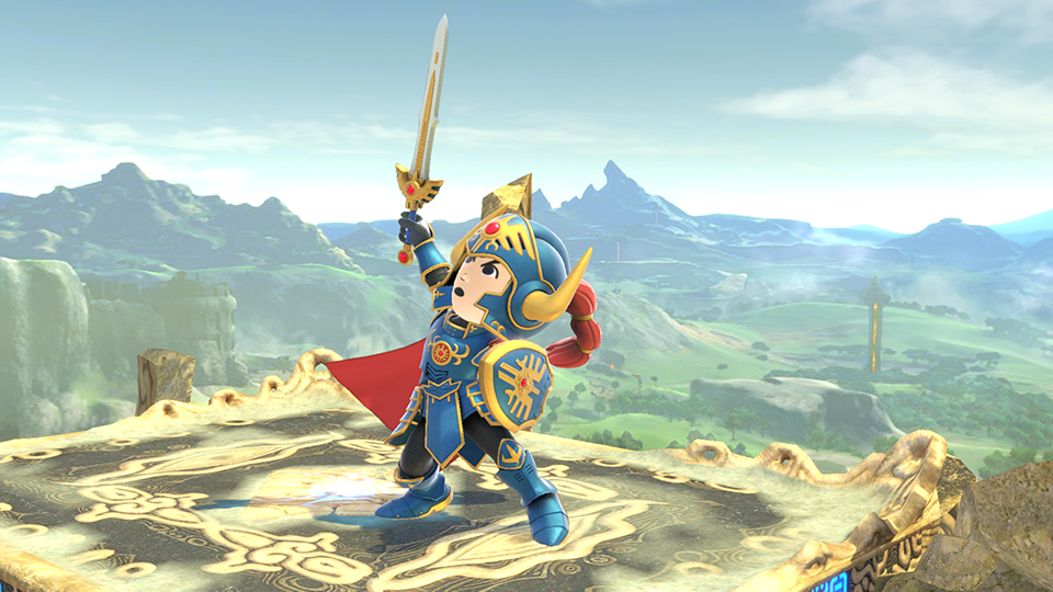 Erdrick S Helmet Armour Now Available For Purchase Super Smash Bros Ultimate Erdrick's powerful sword and armor are famous as being without match. super smash bros ultimate